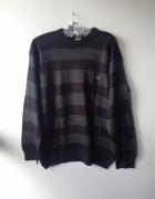 Sweter w paski Lacoste...