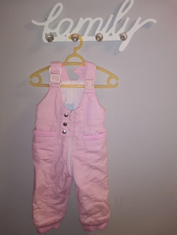 Ocieplane spodnie r 74
