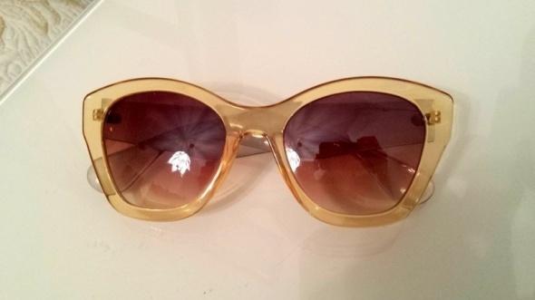 Okulary przeciwsłoneczne cat eye oversize