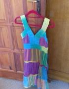 Letnia sukienka BOHO