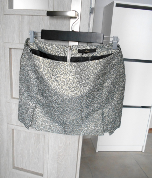 Firetrap żakardowa spódniczka mini metallic rock...