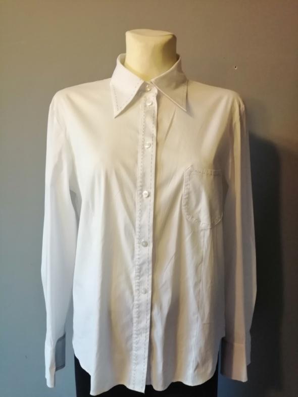 Biała bluzka koszulowa Gerry Weber