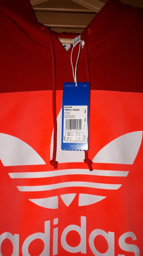 Nowa bluza Adidas czerwona w Bluzy Szafa.pl