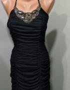 sukienka black sylwestrowa wieczorowa XS S...