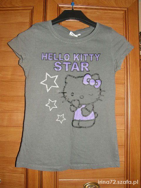 Hello Kitty szara bluzeczka 34 XS...