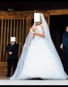 Suknia Ślubna z Kryształkami...