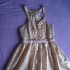 Śliczna sukienka z kokardkami 36 r