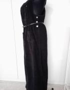 sukienka długa sztruksowa...