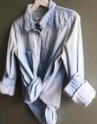 Koszula błękitny jeans Clockhouse...