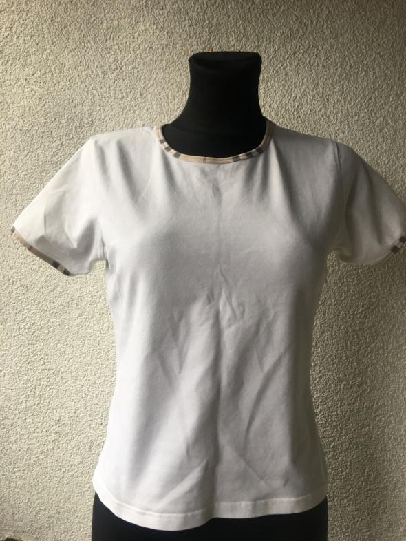 Burberry Bluzeczka biała S na M...