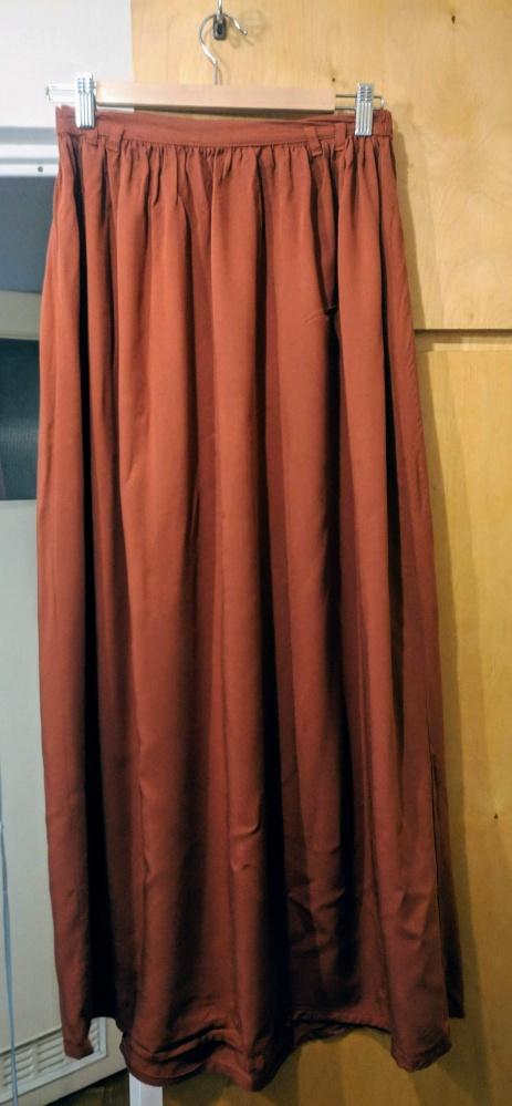 Spódnica ceglasta Reserved