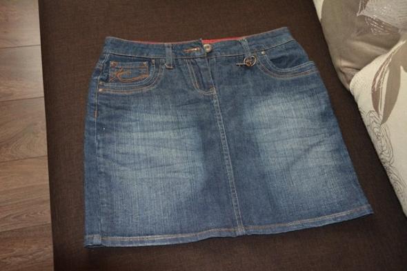 Spódnice Spódnica jeansowa mini 36