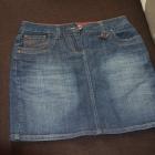 Spódnica jeansowa mini 36