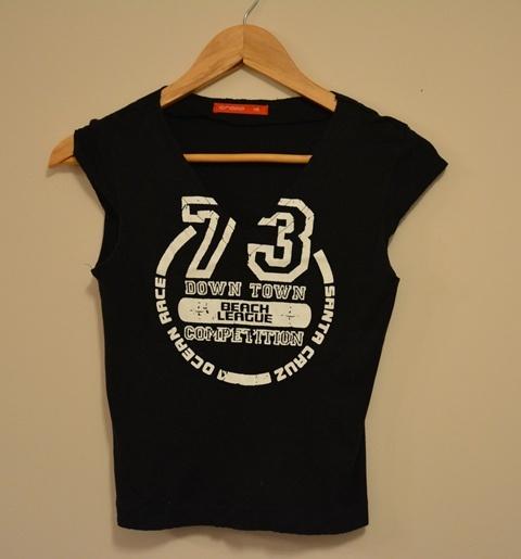 Koszulka XS Crop