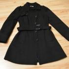 Płaszcz czarny S