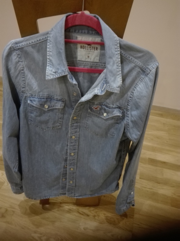 koszula jeans HOLLISTER M...