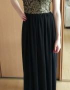 Wieczorowa sukienka maxi XS 34...