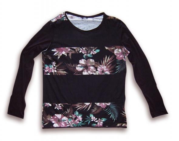 Czarna bluza długi rękaw rozmiar XL
