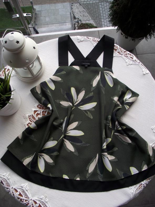 Bluzka w kwiaty na szerokich ramiączkach River Island M L