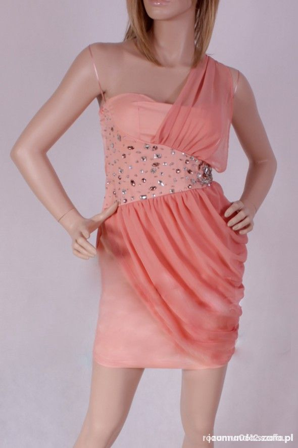 Kolarowa bardzo popularna sukienka