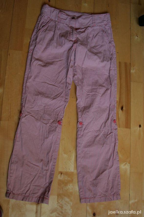spodnie w paski Mexx 146...