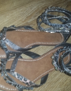 Sandały typu japonki Deichmann rozmiar 39...
