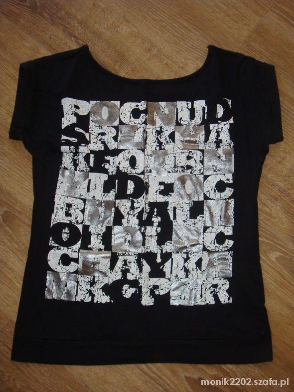 Tshirt bez pleców rozmiar M