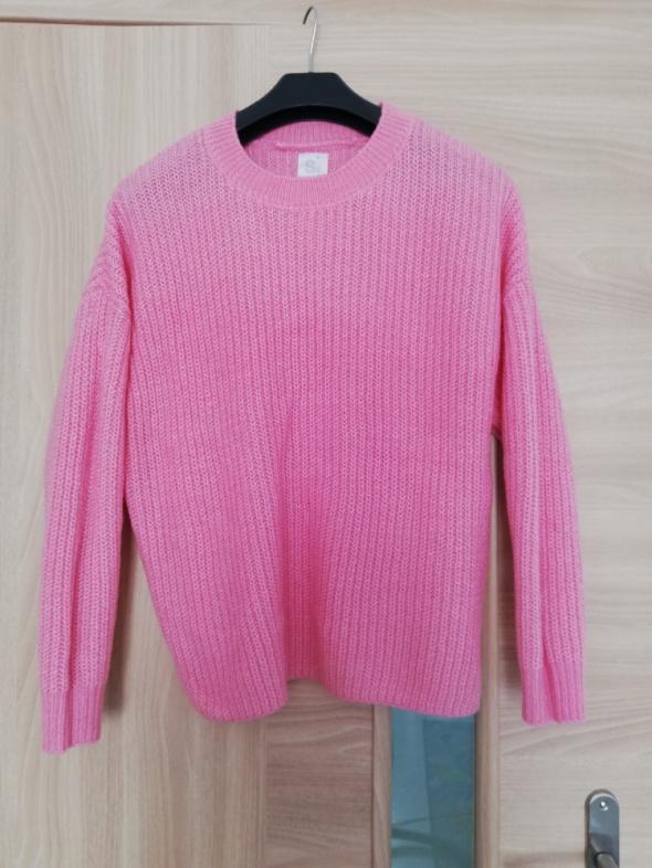 Swetry Różowy sweter