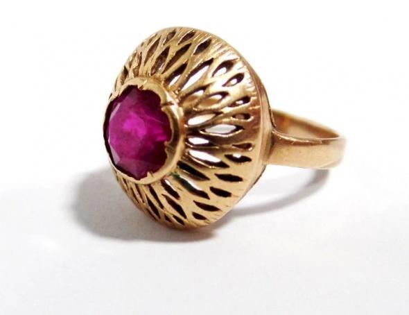 Warmet złoty pierścionek...