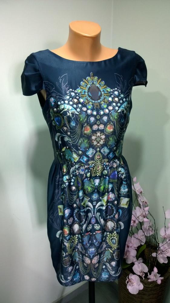 sukienka biżuteryjny wzór 36 38...