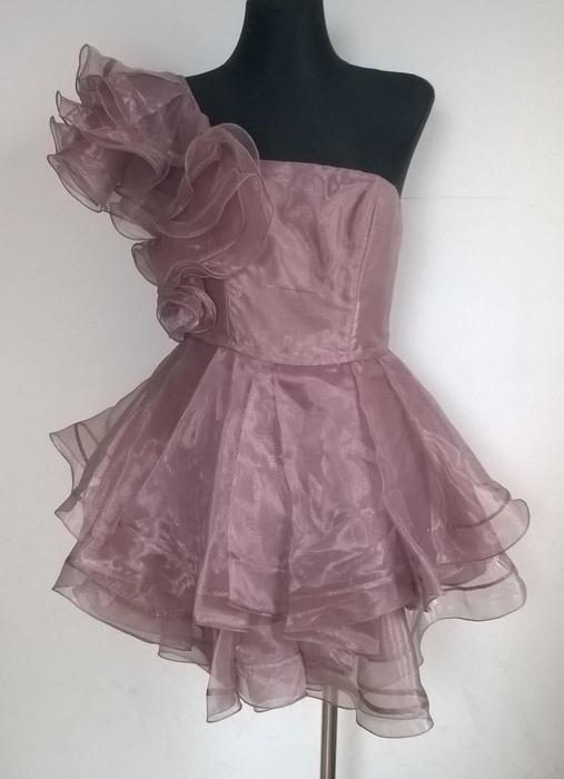 ASOS Black rozkloszowana sukienka S M
