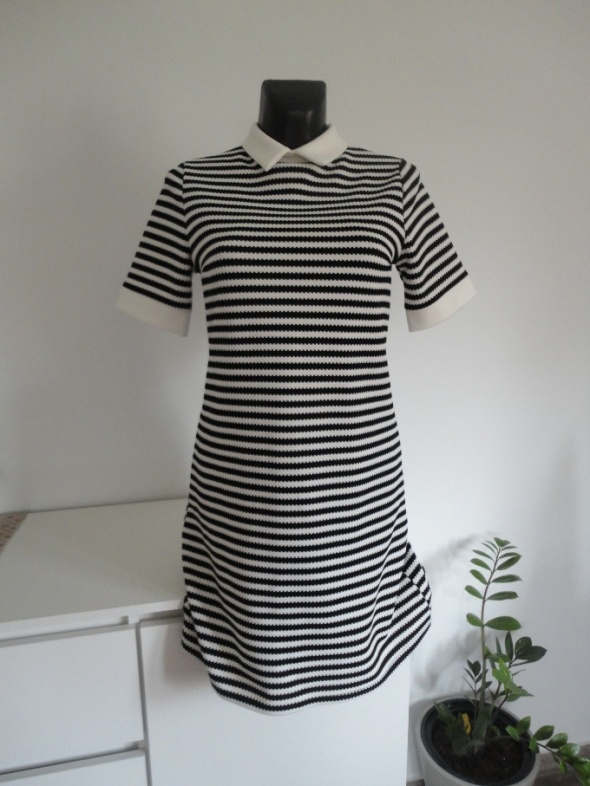 Sukienka w paski SM