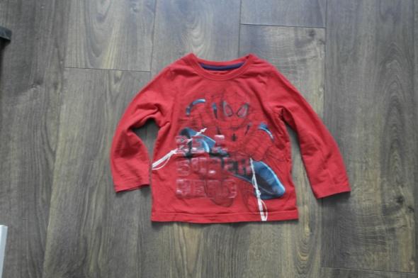 Spiderman piżamka czerwona 98 104