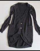 Sweter czarny rozpinany KARDIGAN rozmiar 38 M i 40 L...