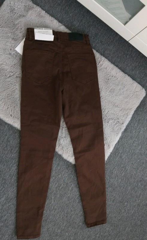 Nowe spodnie wyższy stan Stradivarius Xs...