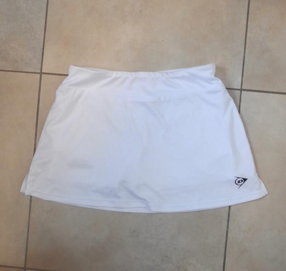 Dunlop spódniczka biała tenisowa sportowa tenis
