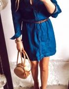 Sukienka Damska jeansowa L...