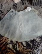 Dżinsowa rozkloszowana spódnica xs...