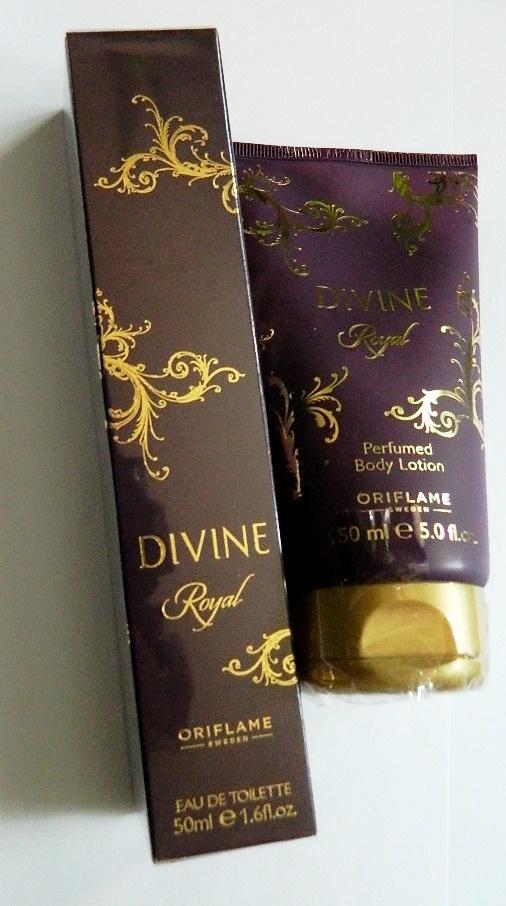 Divine Royal perfum i balsam zestaw Oriflame