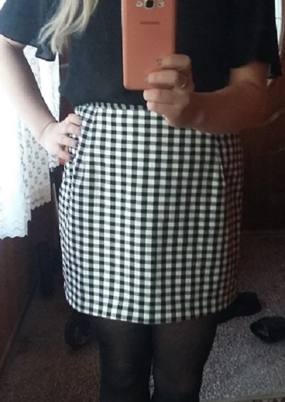 Spódnice new look krata