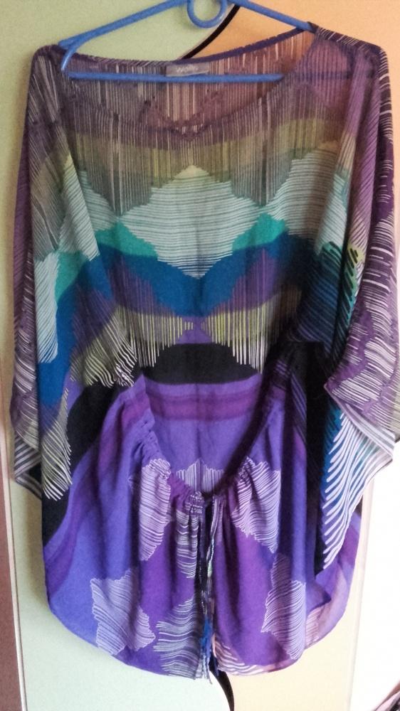 śliczna tunika bluzka nietoperz