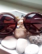 LENONKI okulary przeciwsłoneczne okrągłe muchy HIT...