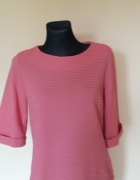 bluzka luzna sweterek 36 38 łososiowy kolor