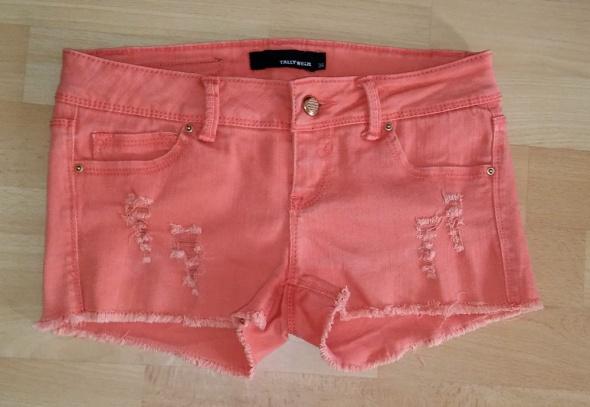 Spodenki szorty damskie jeansy XS