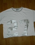 VILA luźna bluzka z nadrukiem roz XL...