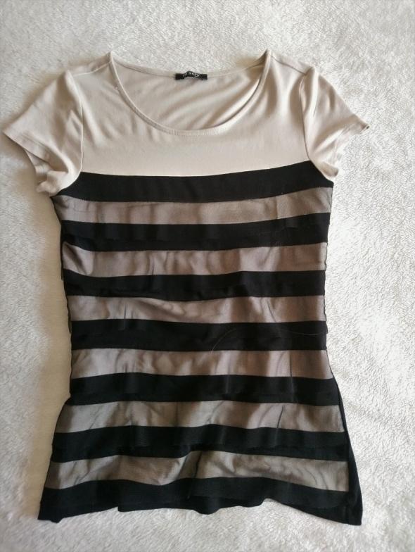 Bluzka tiulowe paski S Orsay