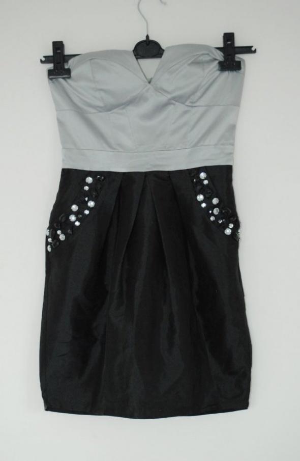Suknie i sukienki sukienka lipsy kamienie s 8