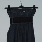 jeansowa sukienka z paskiem s