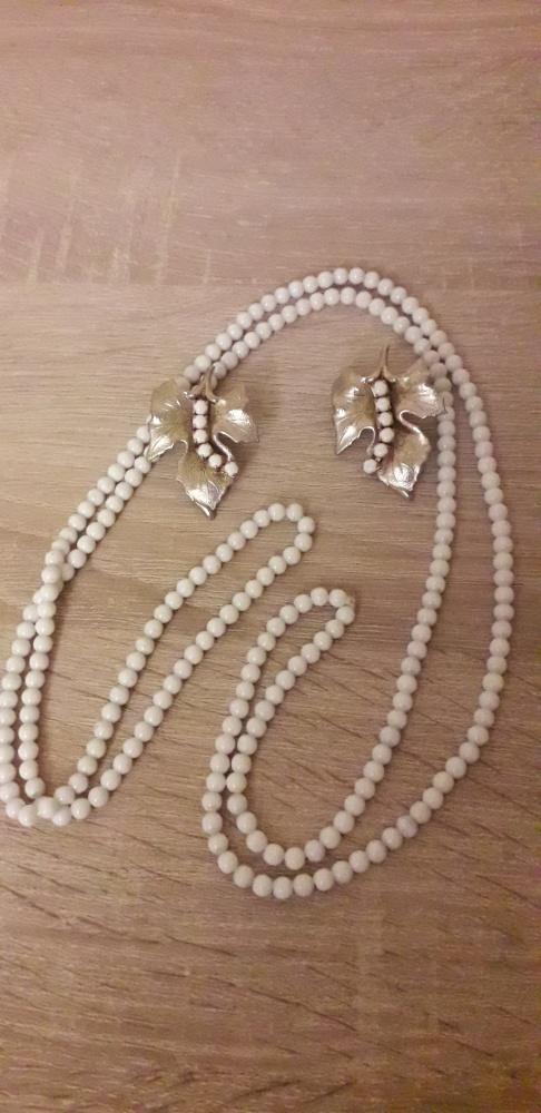 Stara biżuteria sztuczna vintage