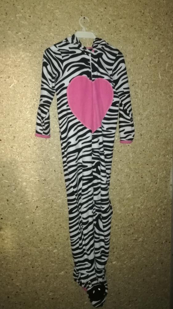 Onesie kigurumi dres kombinezon zebra 11 12 lat